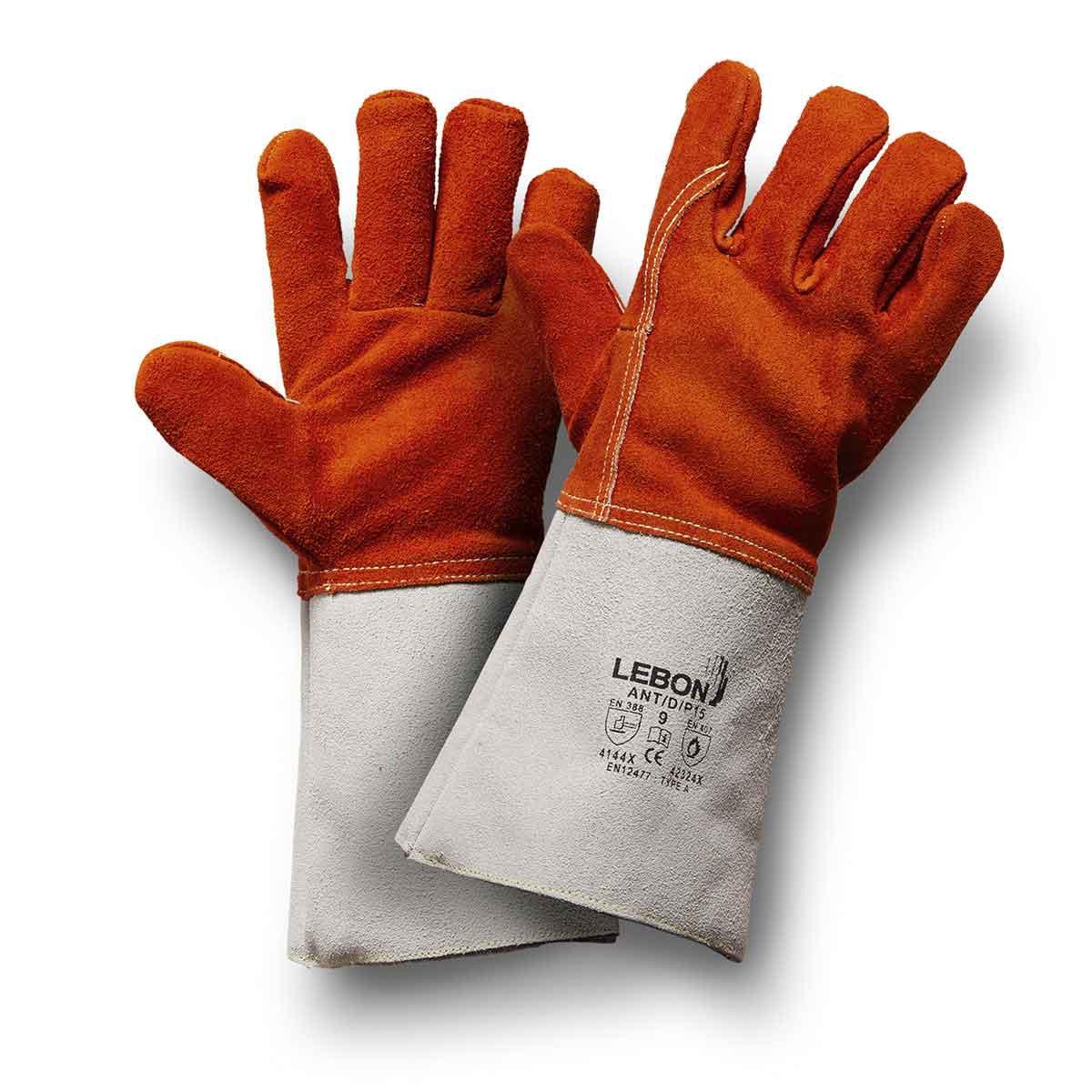 Gants croute de bovin antd/p15 Lebon Protection