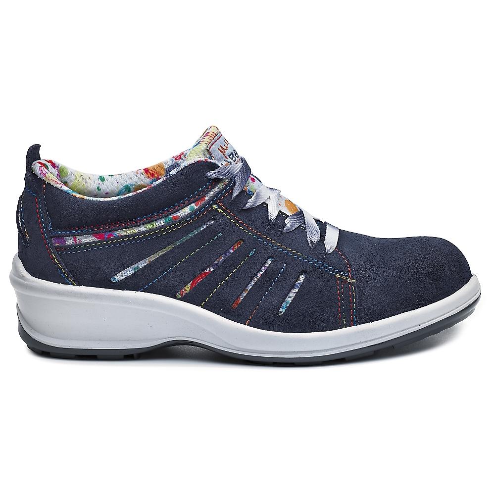 Chaussures basses Tiffany B0321B - Noir/Blanc Base protection