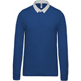 Polo Rugby K213 bleu royal