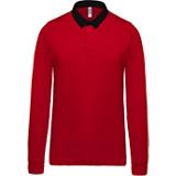 Polo Rugby K213 rouge