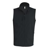 Gilet softshell K403 noir