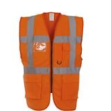 Gilet YHVW801 orange fluo