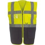 Gilet YHVW801 jaune/marine
