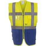 Gilet YHVW801 jaune/bleu