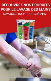 Savon, nettoyage des mains