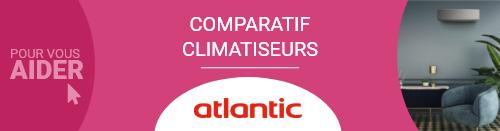 Comparatif Climatiseur Atlantic