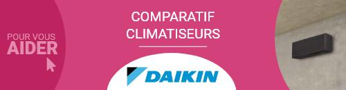 Comparatif Climatiseur Daikin