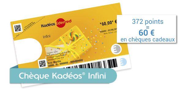 Chèques Kadéos