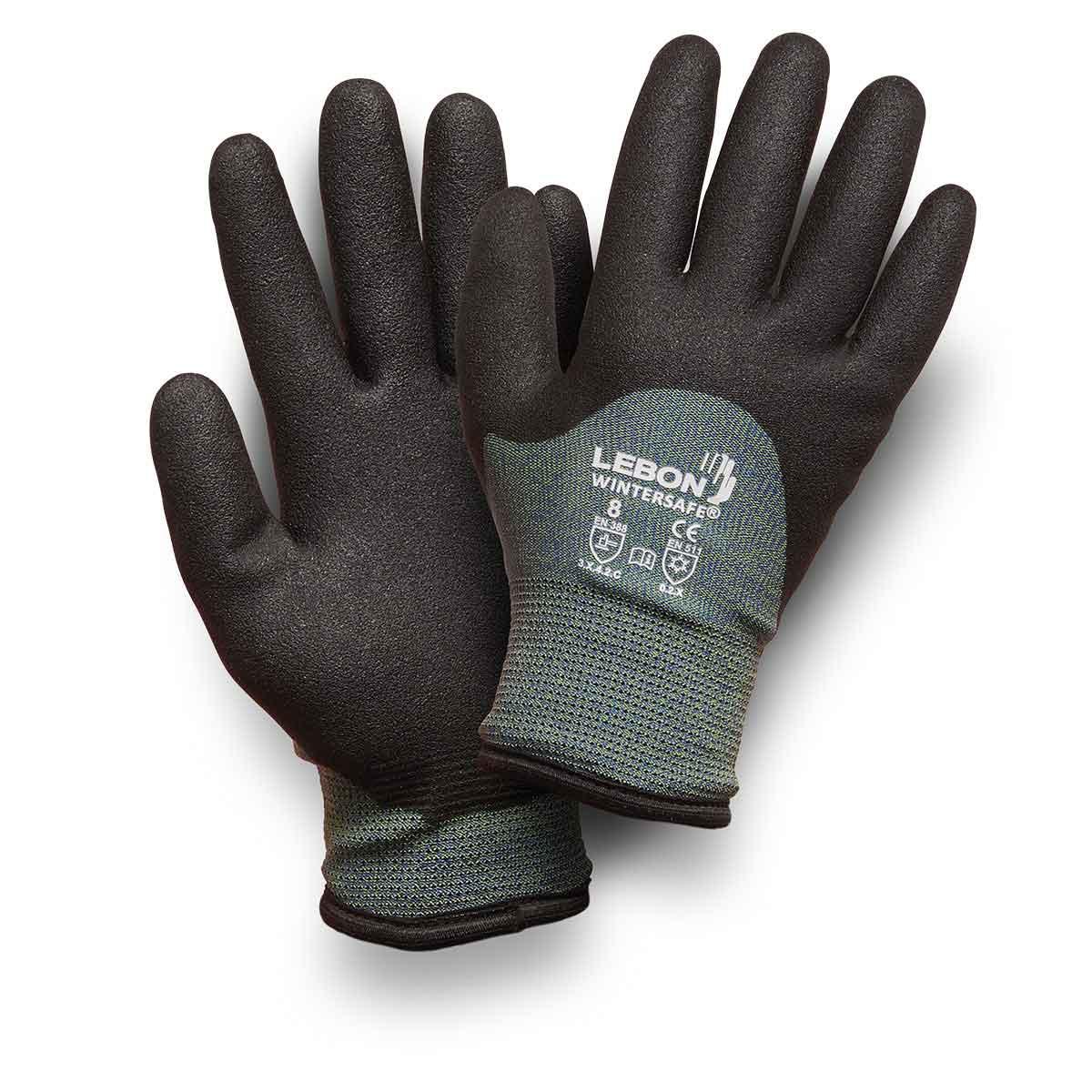 Gants Wintersafe - Noir/Gris Lebon Protection