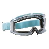 Lunette-masque Flyer acétate incolore sans bord mousse