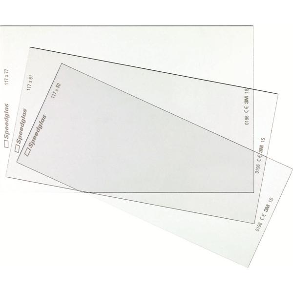 Protection intérieure 77 x 117 mm pour cassette optoélectronique Speedglas 9100X 3M Protection