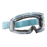 Lunettes masque Flyer acétate incolore avec bord mousse