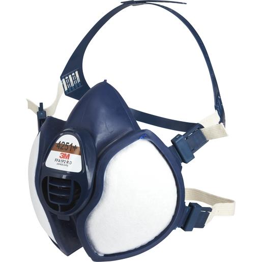 Demi-masque réutilisable avec soupape à filtres intégrés K4251+ - FFA1P2 R D 3M protection