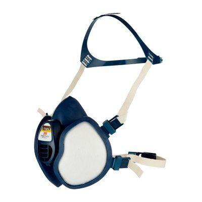 Demi-masque réutilisable avec soupape à filtres intégrés K4277+ - FFABE1P3 R D 3M protection