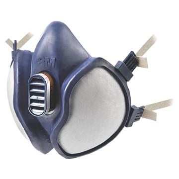 Demi-masques jetables antigaz série 4000 3M