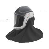 Casques de sécurité avec cape de protection pour unités filtrantes Versaflo et Jupiter