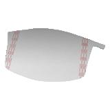 Films pelables de protection pour visières M-928 Versaflo et Jupiter