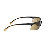 Lunettes de protection Solus bronze monture noire/orange