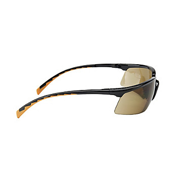 Lunettes de protection Solus bronze monture noire/orange 3M Protection