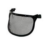 Visière grillagée acier V1A pour casque Peltor