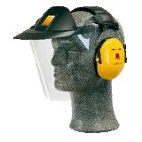 Visière et casque antibruit spécial industrie V40