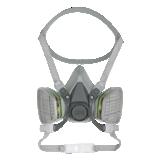 Masques réutilisables à baïonnette série 6000