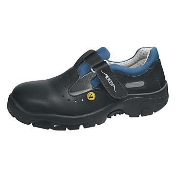 Sandales de sécurité ESD S1 noir Abeba