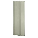 Radiateur Fassane horizontal simple à ailettes hauteur 592