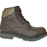 Chaussures hautes cuir pleine fleur marron Sembley MTD