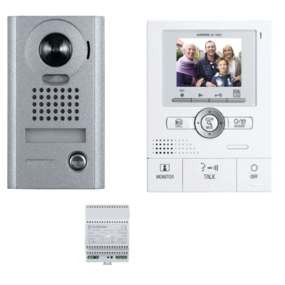 Visiophone grand angle avec zoom – Kit complet JKS1AEDV Aiphone