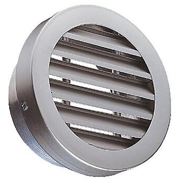 Grille extérieure aluminium circulaire Aldes