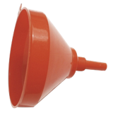 Entonnoir plastique avec filtre