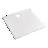 Receveur Prima extra-plat carré à poser ou à encastrer