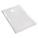 Receveur Prima extra-plat rectangulaire à poser ou à encastrer