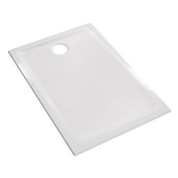 Receveur Prima extra-plat rectangulaire à poser ou à encastrer Allia