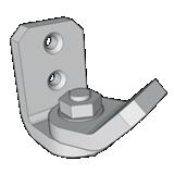 Support pour installation en angle pour Aubagne 2