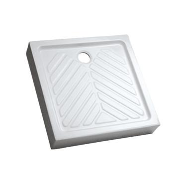 Receveur Prima extra-plat carré surélevé Allia