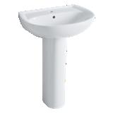Colonne pour lavabo et plan de toilette Prima