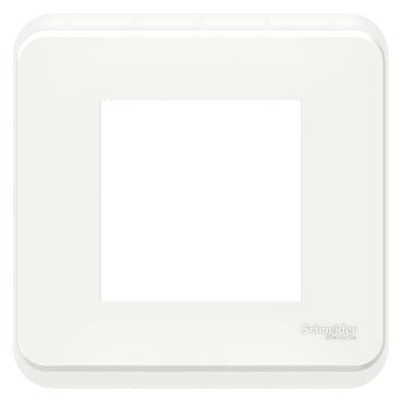 New Unica Pro - Plaque blanc - Poste Schneider Electric