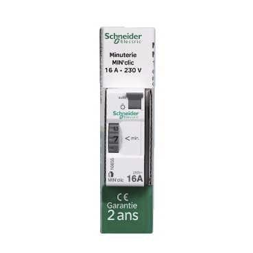 Minuterie Clic 1 à 7 minutes Schneider Electric