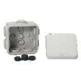 Boite de dérivation IP55 + embouts 65x65x45