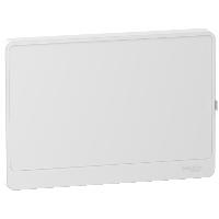 Porte opaque  pour coffret Rési9 18 modules Schneider Electric