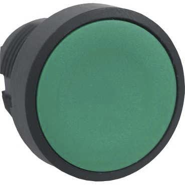 Boutonnerie - Tête bouton poussoir noire Schneider Electric