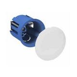 Boite cloison sèche Multifix plus Ø 40 DCL avec couvercle plein