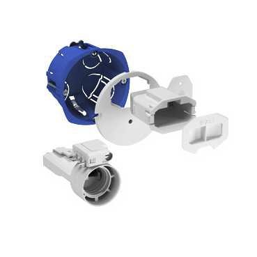 Kit applique DCL Multifix Plus Ø 67 avec couvercle Schneider Electric