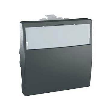 Unica - Mécanisme - Commande d'éclairage graphite Schneider Electric