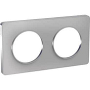 Odace Touch - Plaque 2 postes