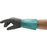 Gants protection chimique nitrile vert/gris ALPHATEC 58-270