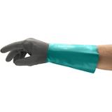 Gants imperméable nitrile vert/gris Alphatec 58-535