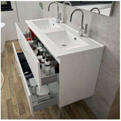Plan Vasque First Ceramique Aquance Tereva Direct